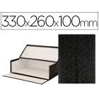 Caixas de arquivo frances liderpapel marmoreado medidas 330x260x100 mm