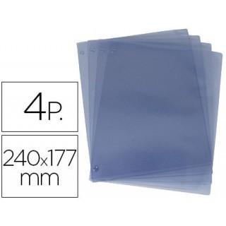 Recargas de 4 bolsas -para carta de envelopemesas