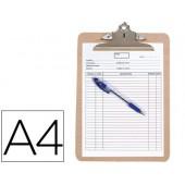 Prancheta porta-notas q-connect. com mola metalica
