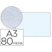 Bolsa catalogo esselte din a3 80 mc polipropileno abertura superior pack de 10 unidades