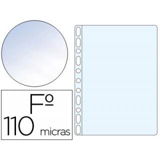 Bolsa catalogo q-connect folio pvc 120 microns cristal caixa de 100 unidades