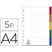 Separadores de plastico q-connect. a4. 5 separadores