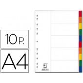 Separadores de plastico q-connect. a4. 10 separadores