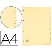 Separadores de cartolina 1 a 31 cartonex