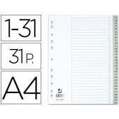 Separadores numericos q-connect. a4. com 31 separadores