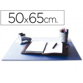 Base secretaria q-connect. pvc. azul. 500x650 mm.