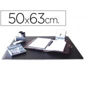 Base secretaria q-connect - preta - 500x650 mm.