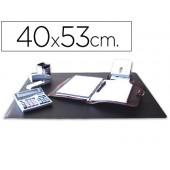 Base secretaria q-connect - preta - 400x530 mm.