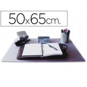 Base secretaria q-connect -transparente - 500x650 mm.