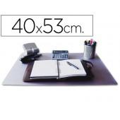 Base secretaria q-connect -transparente - 400x530 mm.