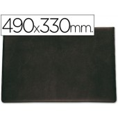 Base de secretaria acolchoada saro-preta - 490x330mm.
