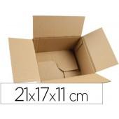 Caixa para embalar fundo automatico q-connect medidas 210x170x110 mm espessura cartao 3 mm