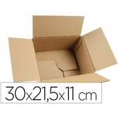 Caixa para embalar fundo automatico q-connect medidas 300x215x110 mm espessura cartao 3 mm