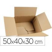 Caixa para embalar fundo automatico q-connect medidas 500x400x300 mm espessura cartao 3 mm