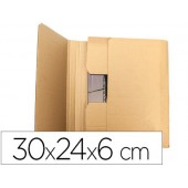 Caixa para embalar livro q-connect medidas 300x240x60 mm espessura cartao 3 mm