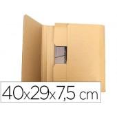 Caixa para embalar livro q-connect medidas 400x290x75 mm espessura cartao 3 mm