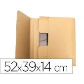 Caixa para embalar livro q-connect medidas 520x390x140 mm espessura cartao 3 mm