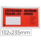 Envelope autoadesivo c/janela232 x 130 mm