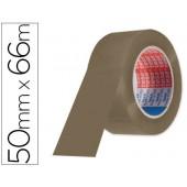 Fita adesiva tesa castanha 66mtx 50 mm - para embalagem