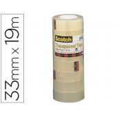 Fita adesiva scotch acordeonpack 8 550 19x33 mm
