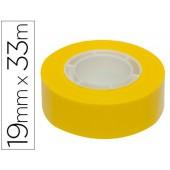 Fita adesiva apli 33 mt x 19 mm cor amarelo