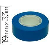 Fita adesiva apli 33 mt x 19 mm cor azul