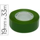 Fita adesiva apli 33 mt x 19 mm cor verde