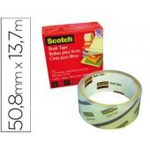 Fita adesiva scotch 845 book tape 50.8mm x 13.7 mt