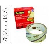 Fita adesiva scotch 845 book tape 76.2mm x 13.7 mt