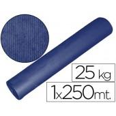 Papel kraft azul 1.00x250 mt 25 kgs