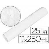 Papel kraft branco 1.10x250 mts 25 kgs
