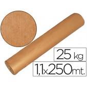 Papel kraft castanho 1.10x250 mts 25 kgs