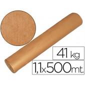 Papel kraft castanho 1.10 mt x500 mts. 41 kgs.
