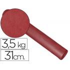 Papel fantasia kraft liso bordeaux 31 cm 3.5 kg