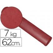 Papel fantasia kraft liso bordeaux 62 cm -7 kg