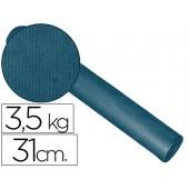 Papel fantasia kraft liso cobalto 31cm - 3.5 kg