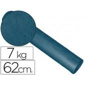 Papel fantasia kraft liso cobalto 62cm - 7 kg