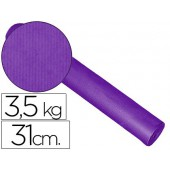 Papel fantasia kraft liso lilas 31cm 3.5 kg