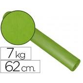 Papel fantasia kraft liso pistache 62 cm - 7 kg