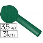 Papel fantasia kraft liso verde 31cm - 3.5 kg