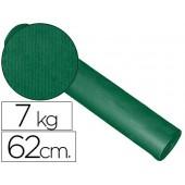 Papel fantasia kraft liso verde 62cm - 7kg