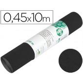 Rolo adesivo liderpapel veludo preto rolo de 0.45 x 10 mt