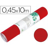Rolo adesivo liderpapel veludo vermelho rolo de 0.45 x 10 mt