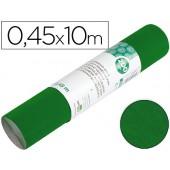 Rolo adesivo liderpapel veludo verde rolo de 0.45 x 10 mt