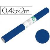 Rolo adesivo liderpapel especial camurça azul rolo de 0.45 x 2 mt