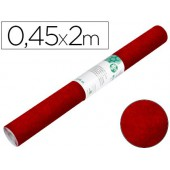 Rolo adesivo liderpapel especial camurça granate rolo de 0.45 x 2 mt
