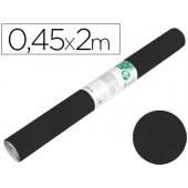 Rolo adesivo liderpapel especial camurça preto rolo de 0.45 x 2 mt