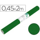 Rolo adesivo liderpapel especial camurça verde rolo de 0.45 x 2 mt