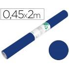 Rolo adesivo liderpapel unicolor azul brilho rolo de 0.45 x 2 mt