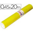 Rolo auto-adesivo aironfix. c or amarelo brilho